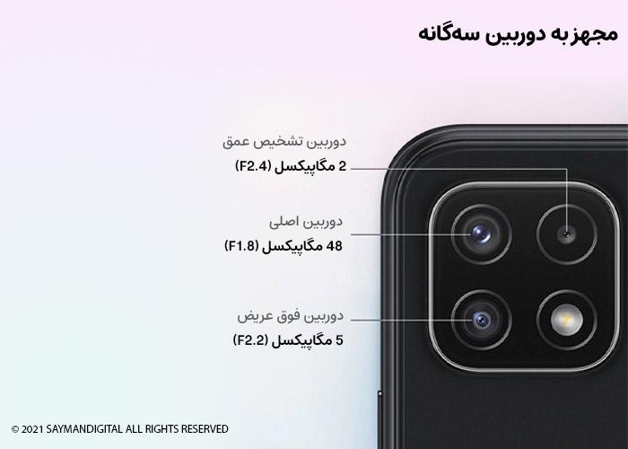 دوربین Samsung A22 5G