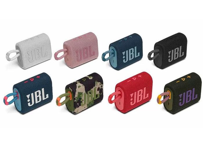 طراحی اسپیکر JBL Go 3