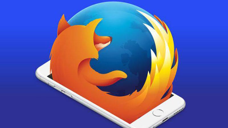 مرورگر فایرفاکس برای آیفون