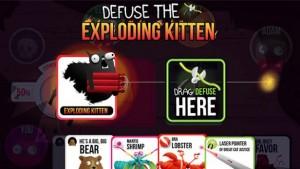 گیم Exploding Kittens