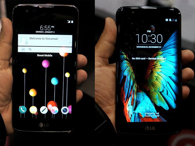 جدیدترین گوشیهای هوشمند LG در نمایشگاه CES 2016