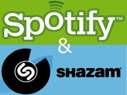 Shazam+spotify