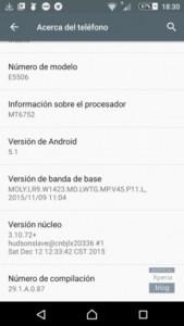 بروزرسانی اندروید 5.1 برای گوشی سونی C5 Ultra