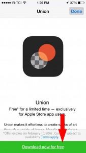 مرحله دو - نصب اپلیکیشن Pixite's Union