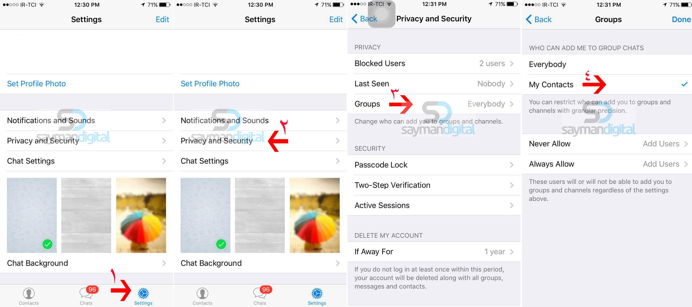 مراحل-جلوگیری-از-عضو-شدن-ناخواسته-در-گروه-ها-و-کانال-ها-در-iOS1