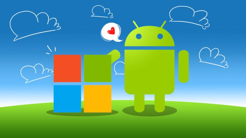 برنامه های اندرویدی مایکروسافت