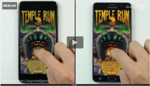 مقایسه سرعت iPhone 6s plus با Galaxy Note 5