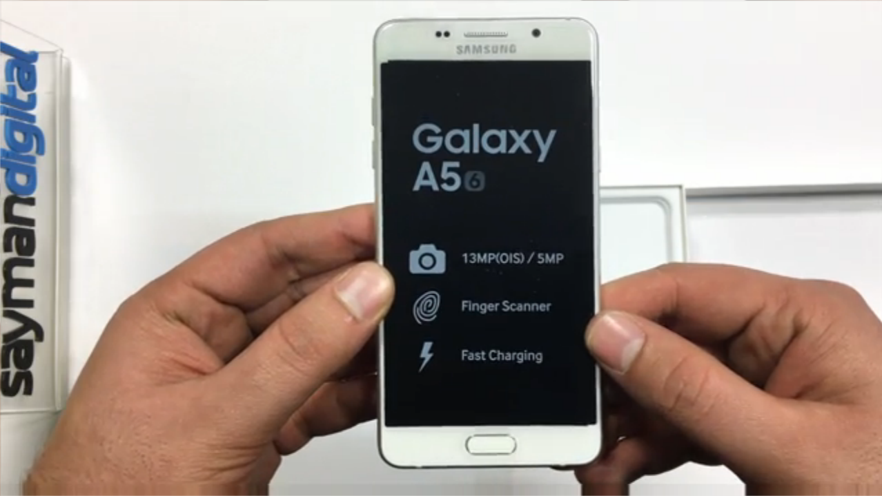 آنباکس Galaxy A5 2016