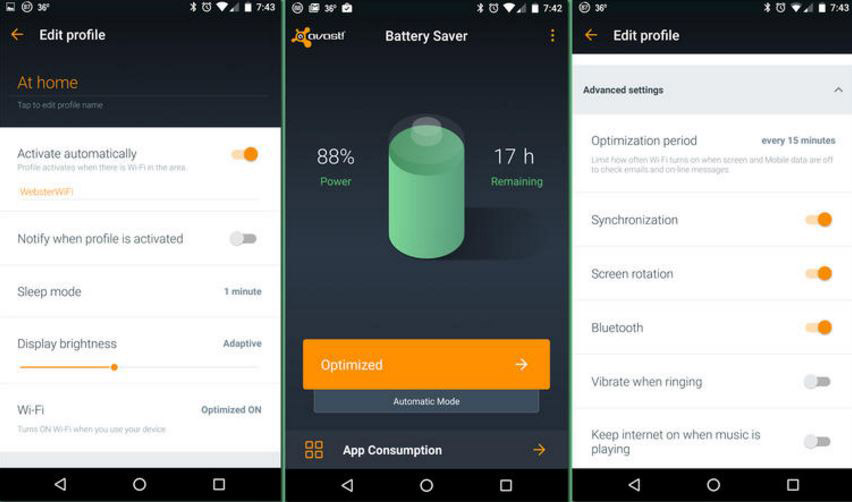 برنامه-Avast-Battery-Saver