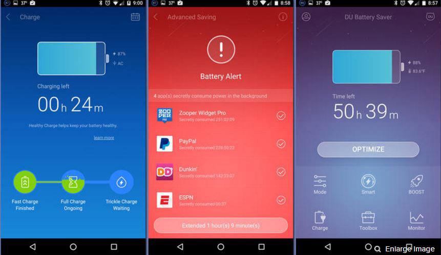 برنامه-DU-Battery-Saver-&-Phone-Charger