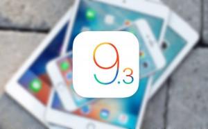 انتشار iOS 9.3