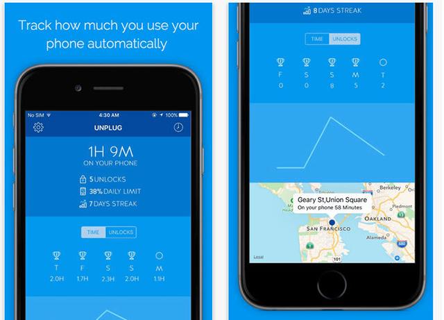 برنامه کاربردی برای ترک اعتیاد به تلفن همراه