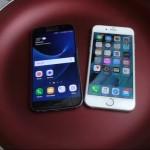 Galaxy S7 & iphone 6s