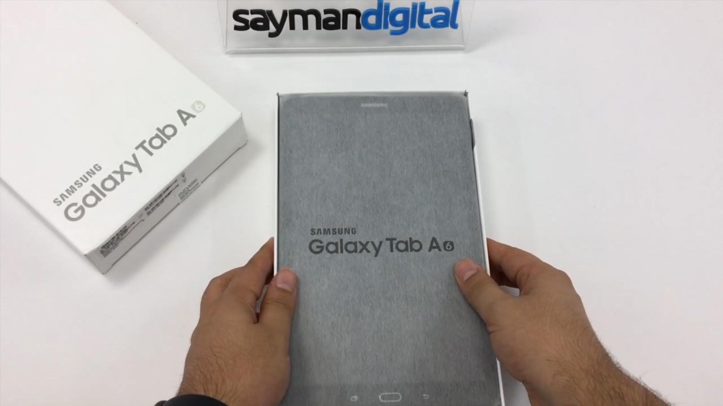 ویدیو آنباکس Galaxy Tab A 10 2016 SM-585