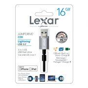 Lexar JumpDrive c20i Flash Memory - 16GB