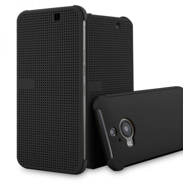 HTC Dot View Cover Case for HTC M9 Plus