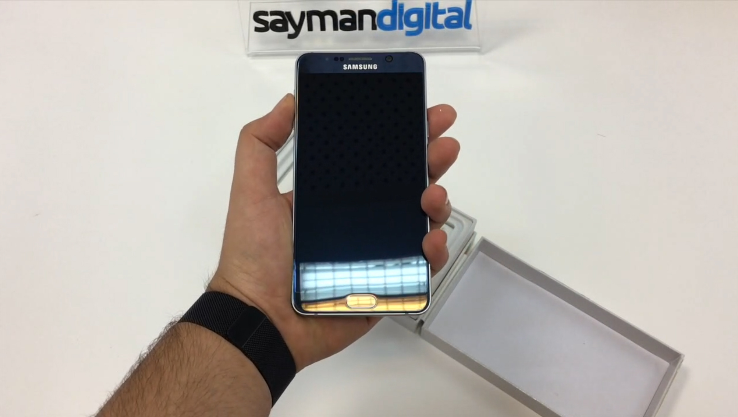 ویدیو آنباکس Samsung Galaxy Note 5