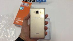 ویدیو آنباکس Samsung Galaxy On7