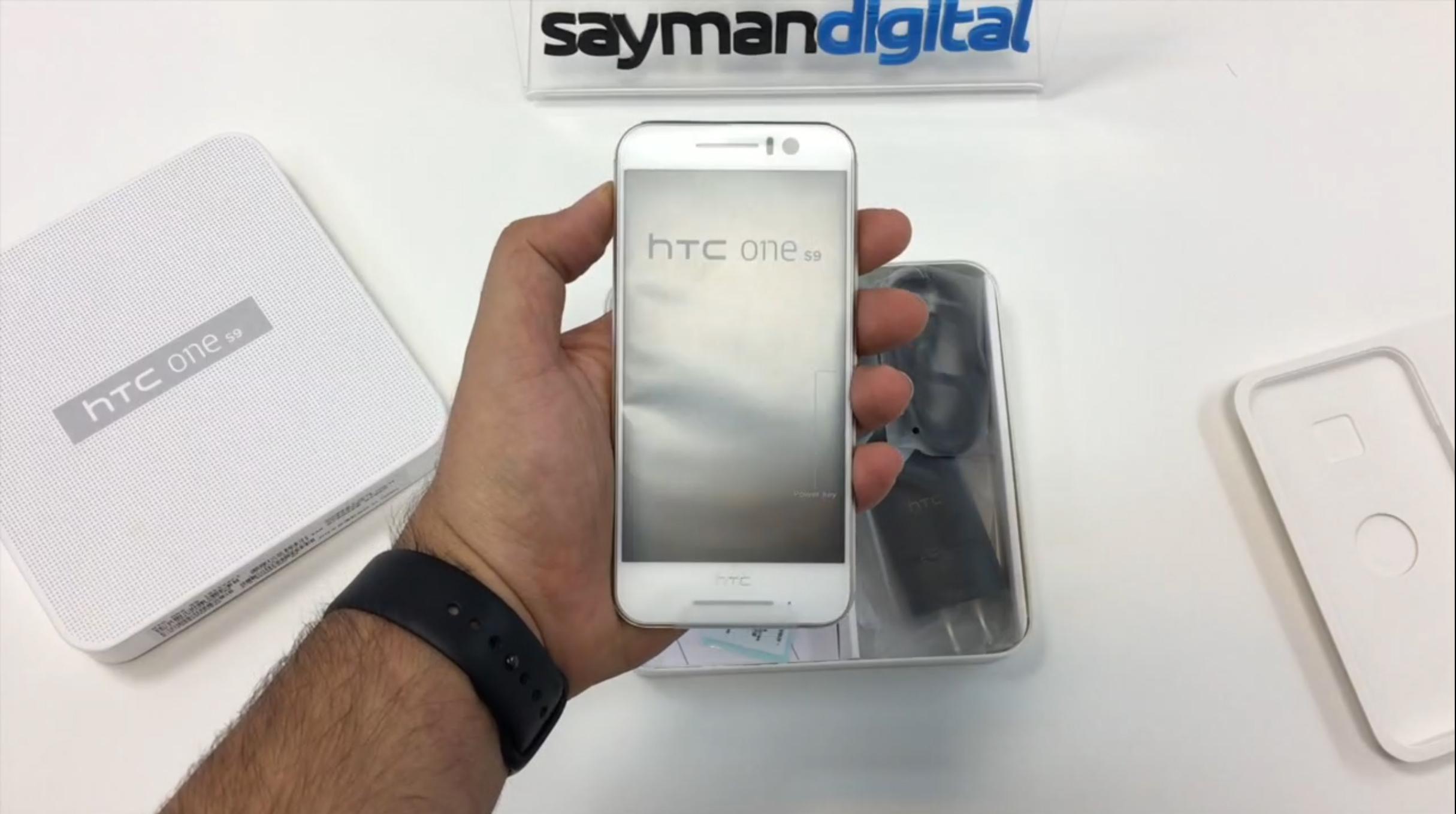 ویدیو آنباکس HTC One S9