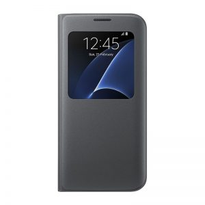 Samsung S View Flip Cover For Galaxy S7 Edge