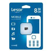 Lexar Class 10 microSDHC Flash Card 8GB