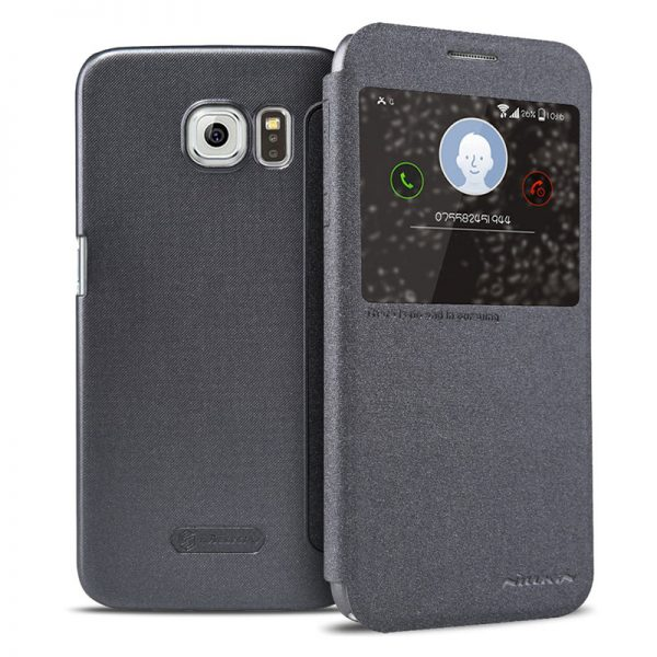Samsung Galaxy S6 Nillkin Sparkle Leather Case