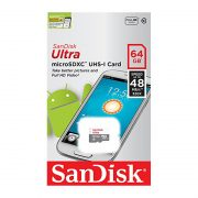 SanDisk Ultra UHS-I U1 Class 10 48MBps microSDXC 64GB