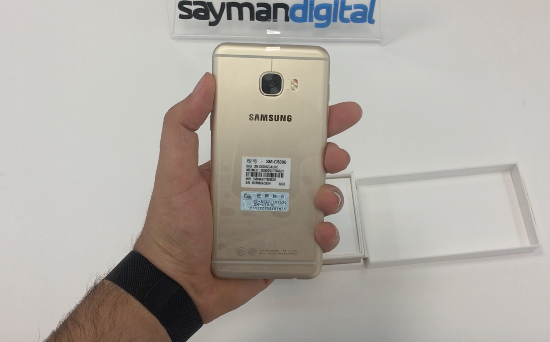 ویدیو آنباکس Samsung Galaxy C5