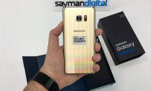 ویدیو آنباکس Samsung Galaxy Note 7