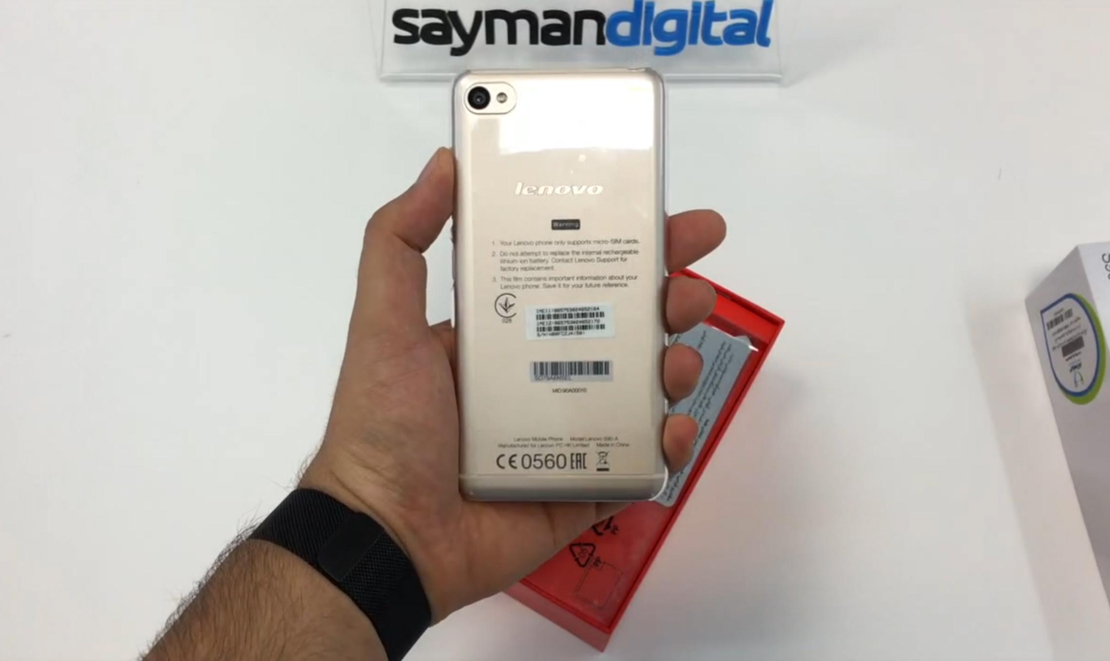 ویدیو آنباکس Lenovo s90