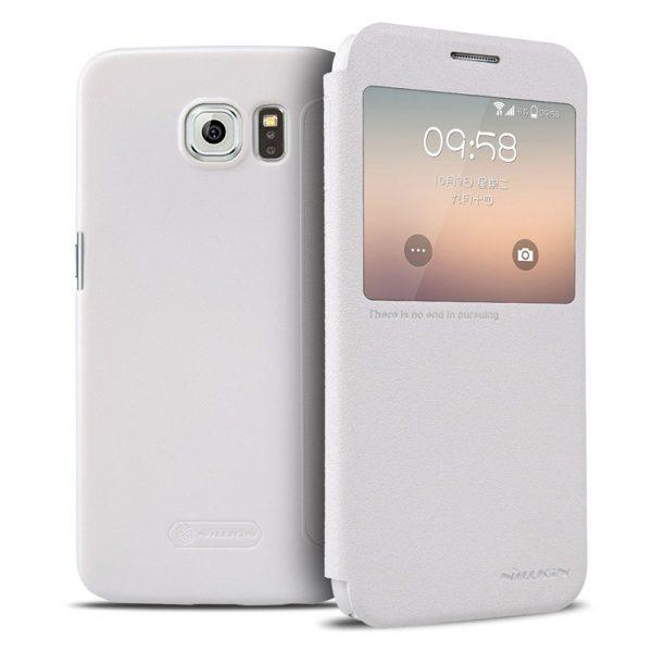 Samsung Galaxy S6 Nillkin Sparkle Leather Case
