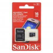 SanDisk MicroSDHC Class 4 Flash Memory Card 16GB