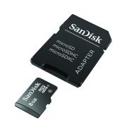 SanDisk MicroSDHC Class 4 Flash Memory Card 8GB