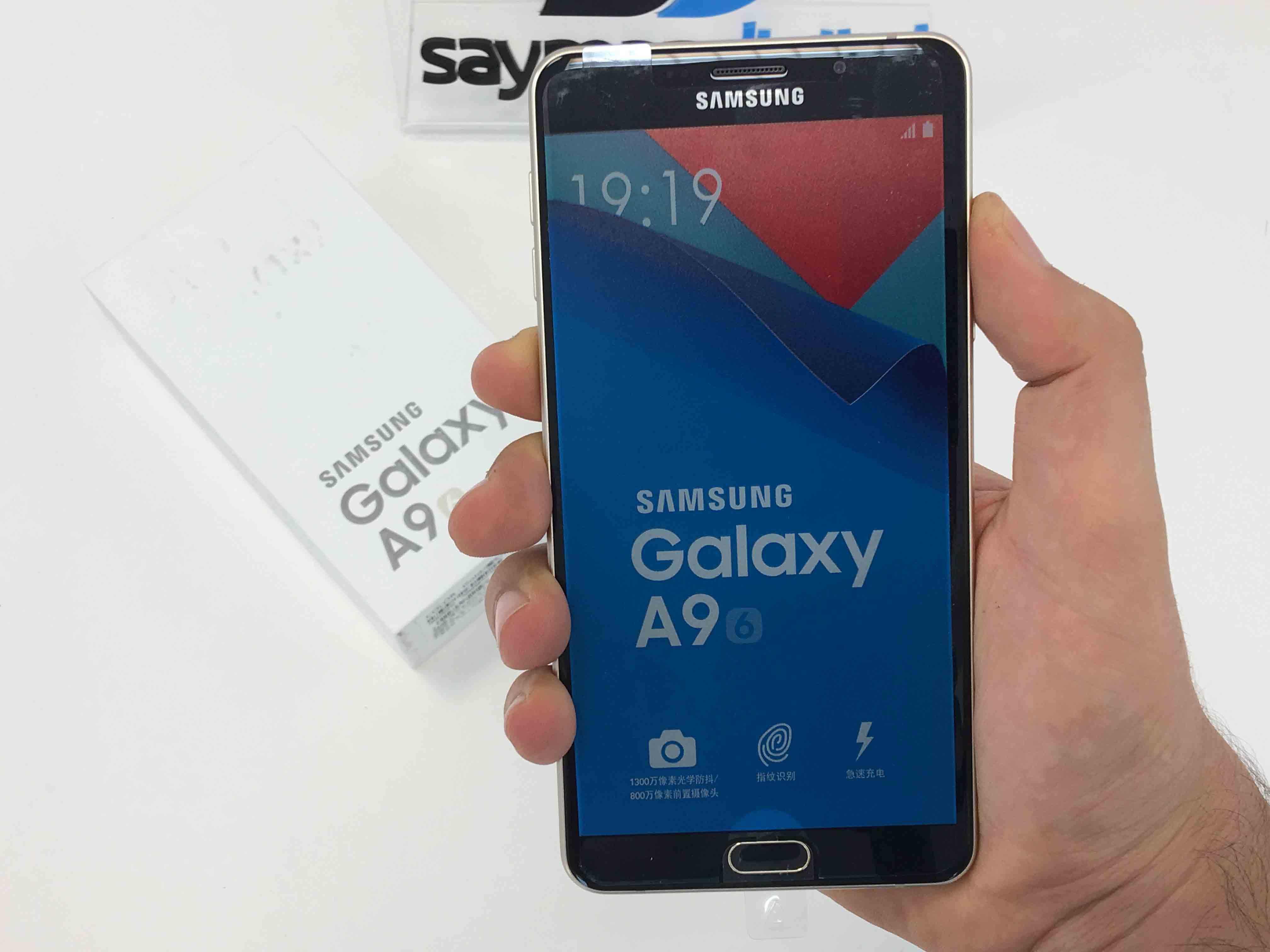 ویدیو آنباکس Samsung Galaxy A9 2016