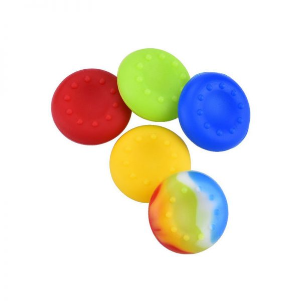 Multi Color Analog Stick Silicon Thumb Grip