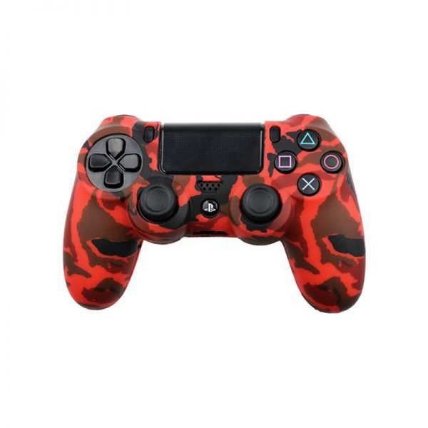 Red ARMY DESIGN COVER SONY PS4 CONTROLLER