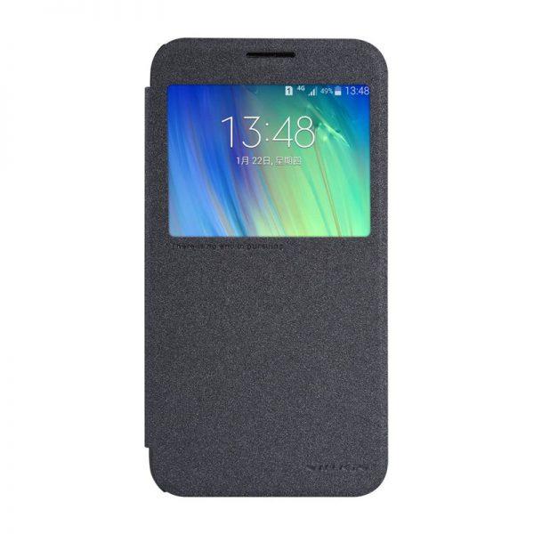 Samsung Galaxy E7 Nillkin Sparkle Leather Case