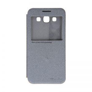 Samsung Galaxy E5 Nillkin Sparkle Leather Case