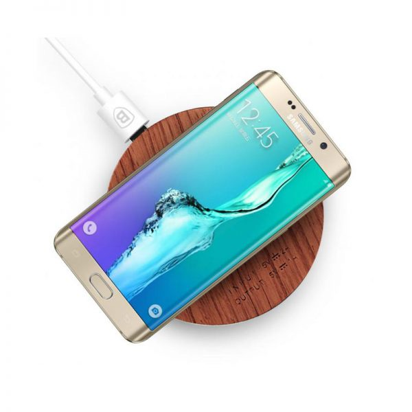 Baseus swood wireless charger