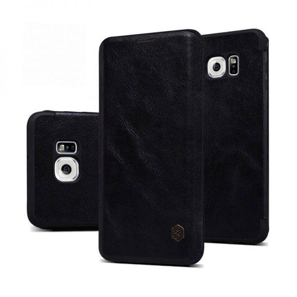 Samsung Galaxy S6 Edge Plus Nillkin Qin Leather Case