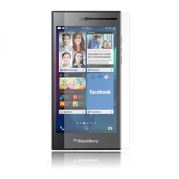 Blackberry Leap Tempered Glass Screen Protector