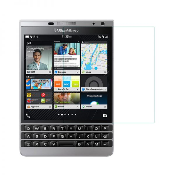 Blackberry Passport Silver Edition Tempered Glass Screen Protector