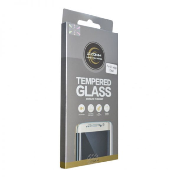 J.C.COMM Galaxy S7 Edge Tempered Glass- J.C.COMM Galaxy S7 Tempered Glass