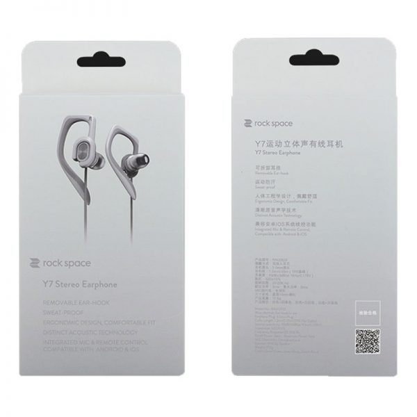 RockSpace Y7 Stereo Sports Earphone