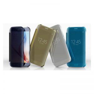 Samsung Galaxy J7 Prime Mirror Flip Cover- Samsung Galaxy J5 Prime Mirror Flip Cover