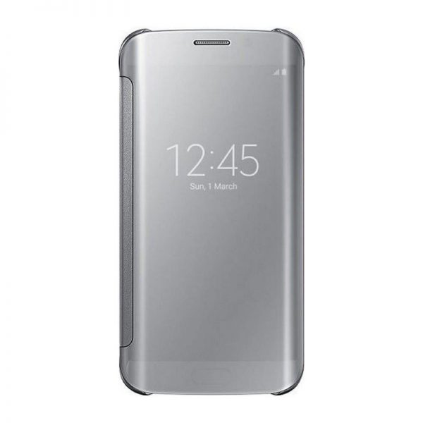 Samsung Galaxy S6 Mirror Flip Cover- Samsung Galaxy S6 Edge Mirror Flip Cover