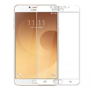 Samsung C9 Pro Tempered Glass Screen Protector Full