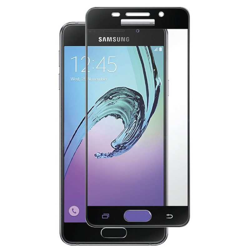 samsung a3 2017 tempered glass screen protector full. Black Bedroom Furniture Sets. Home Design Ideas