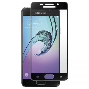 Samsung Galaxy A3 2016 Tempered Glass Screen Protector Full