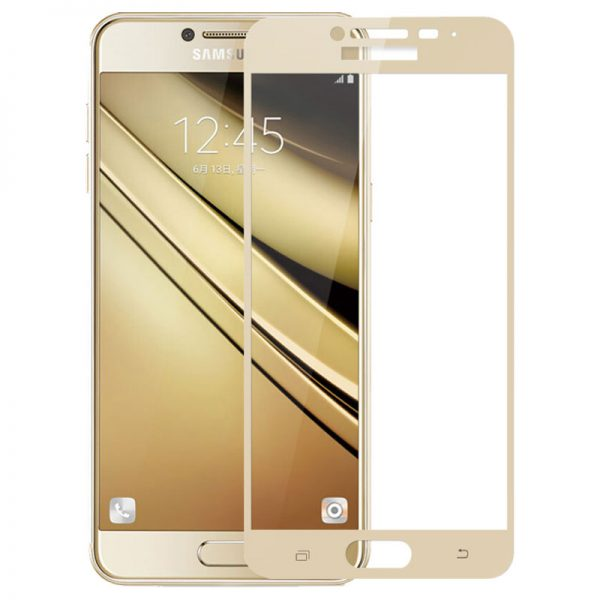 Samsung Galaxy C5 Tempered Glass Screen Protector Full